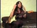 John Frusciante гитарный урок с переводом на русский
