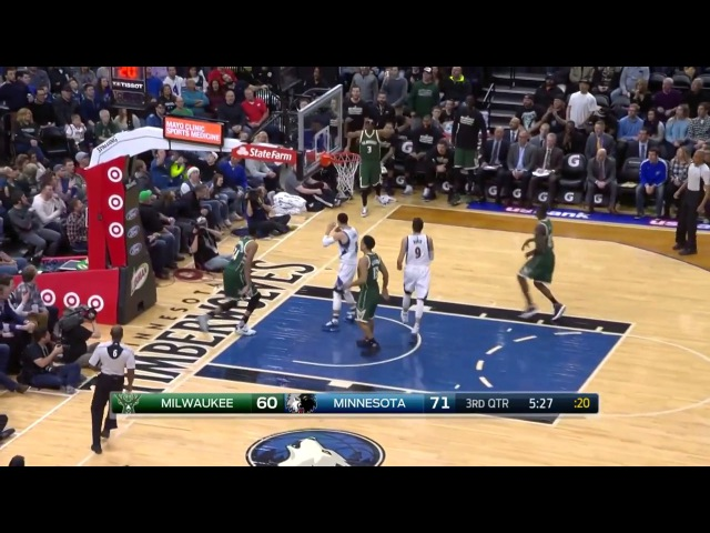 Giannis Antetokounmpo Highlights vs T Wolves 25pts 7reb 5ast