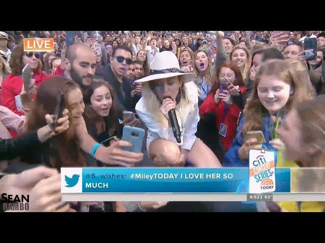 Miley Cyrus - We Can't Stop (Live on The TODAY Show 2017)