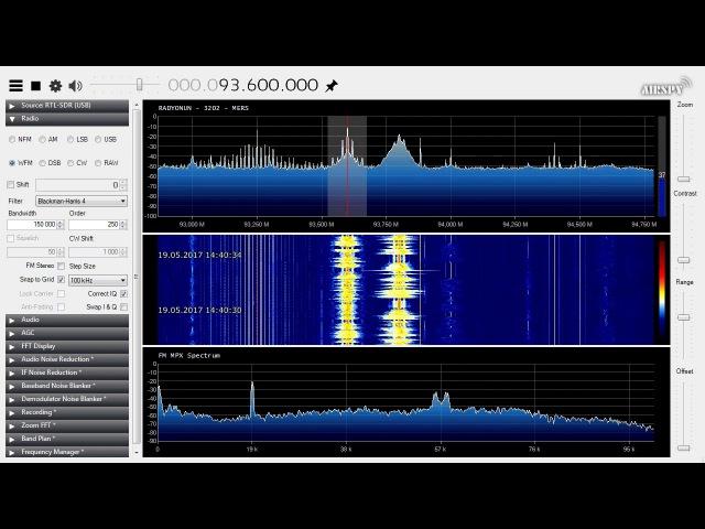 Es FM DX - 93.6 MHz - TRT 1 Radyo Bir - Iskenderun-Belen, Turkey - 1489 km