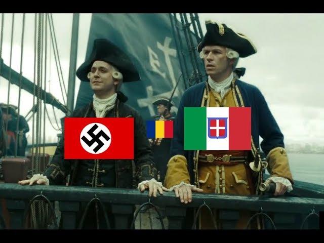Pirates of the Caribbean WW2 Meme - Allies vs Axis