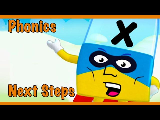 Meet The Alphablocks - Superhero X (Orange Level Step 6)