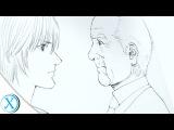 Хирою Ока рисует! Drawing Ichiro and Hiro Inuyashiki