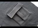 How to sew a POCKET Trouser pocket Sewing course Jak uszyć kieszeń bojówkę z patką