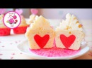 Капкейки со спрятанным сердцем Рецепт капкейков пошагово Капкейки на 14 февраля