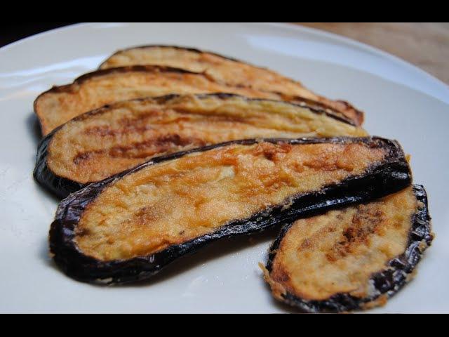 La meilleure façon de faire frites les aubergines sans absorber les huiles
