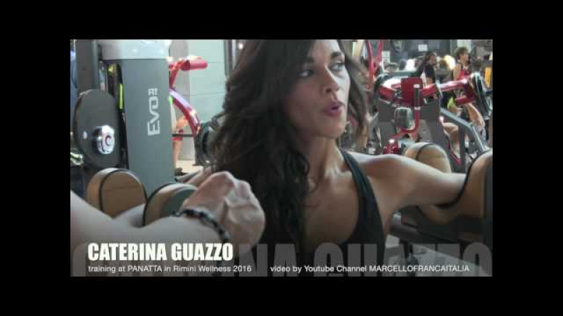 02 CATERINA GUAZZO training at Panatta Sport in Rimini Wellness 2016