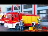 Мультики про Машинки: Пожарная машина и Полицейская машина - Приключения | Мульт ...
