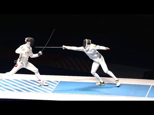 Epee Fencing Highlights: Benjamin Steffen in Rio 2016