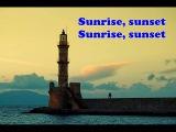 Sunrise Sunset - Fiddler on the roof (with lyrics)