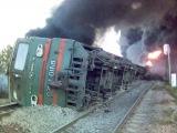 18+!! Чем больше поезд, тем страшнее замес!/ Collision locomotives