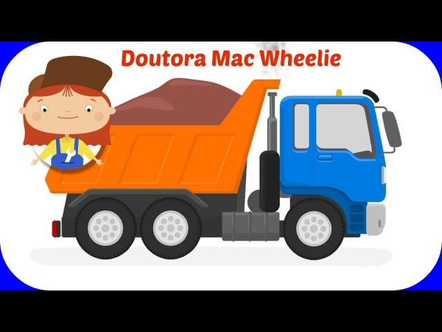 Сaminhões animados 🚗 Doutora Mac Wheelie. 🚗 Desenhos animados para crianças. DesenhosCarros