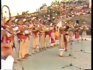 Lule mbi lule Enver Hoxha - Feride Kurti dhe grupi i Matit (Burrel)