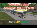Marcopolo Viale Articulado MB OF 1722 для Omsi 2