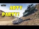 World of Tanks Funny Moments ARTY PARTY 49