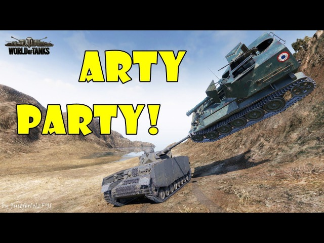 World of Tanks - Funny Moments | ARTY PARTY! 49