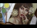 Lupe Sujey Cuevas - Time lapse drawing with voice over