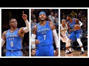 Russell Westbrook, Paul George, and Carmelo Anthony Combine For 55 In Win Over Nuggets
