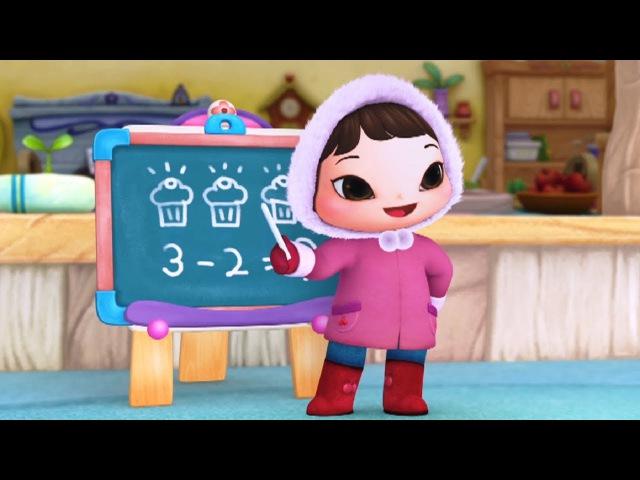 Мультики КИОКА - Все серии про школу - Развивающие и обучающие мультфильмы для детей ДеньЗнаний
