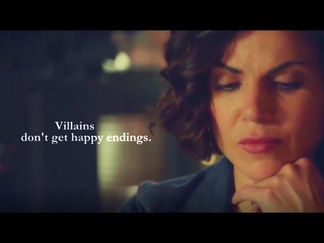 Villains don't get happy endings || Emma and Regina