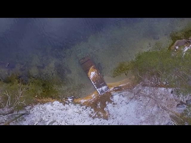 Дыхание осени озеро Тургояк dji