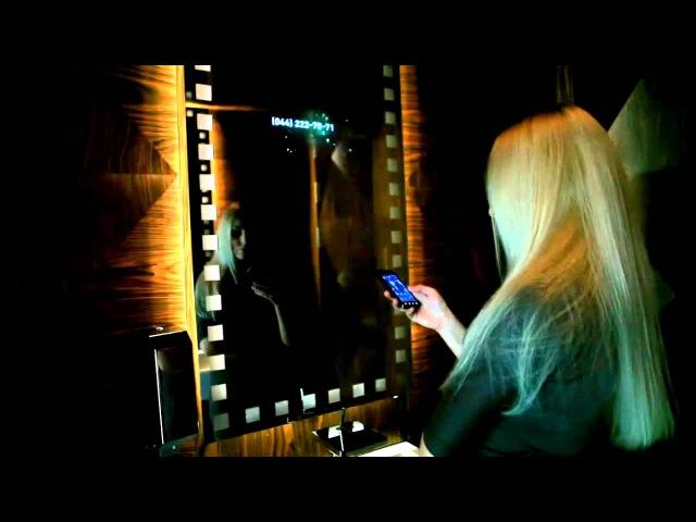 Интерактивное видео зеркало, производство компани Сенсорные киоски