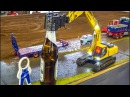 Drink gets served by an EXCAVATOR!
