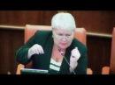 Людмила Магомедова ботает по фене на сессии ЗС