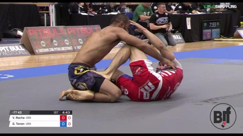Vagner Rocha vs Garry Tonon ADCC17 bronze