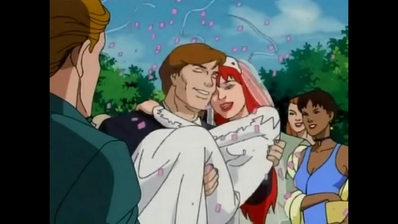 Человек паук 1994 года Сезон 5 Серия 1 Свадьба