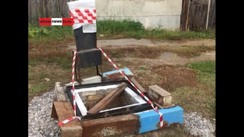 Tauekb - Священник прикрыл колодец конструкцией из... надгробий