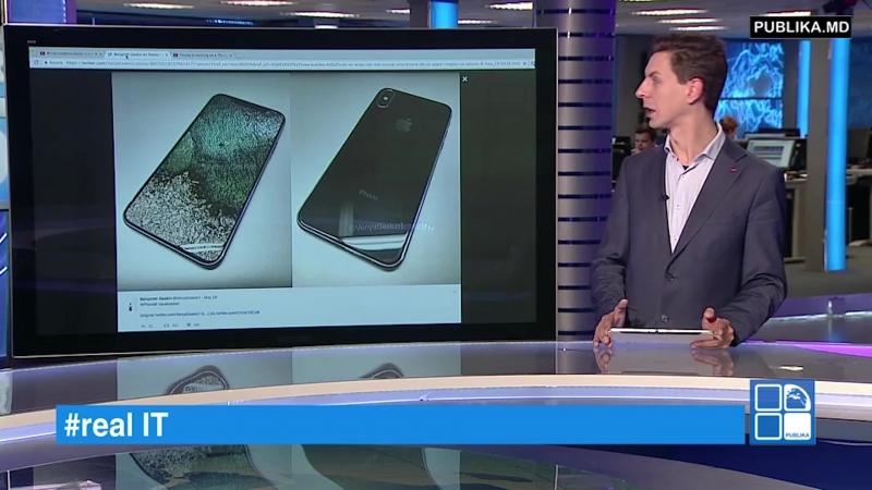 RealIT. Cum va arăta cel mai scump smartphone de la Apple. Imagini cu iPhone 8 www.publika.md/2970428