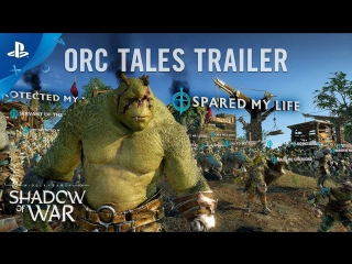 Middle-earth: Shadow of War - Orc Tales Trailer | PS4