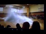 Кит в спортивном зале голография - Голография кит - Голография видео
