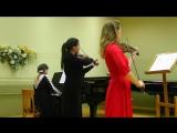 9- Соломон Ядассон - Трио для фортепиано, скрипки, альта 1 часть.