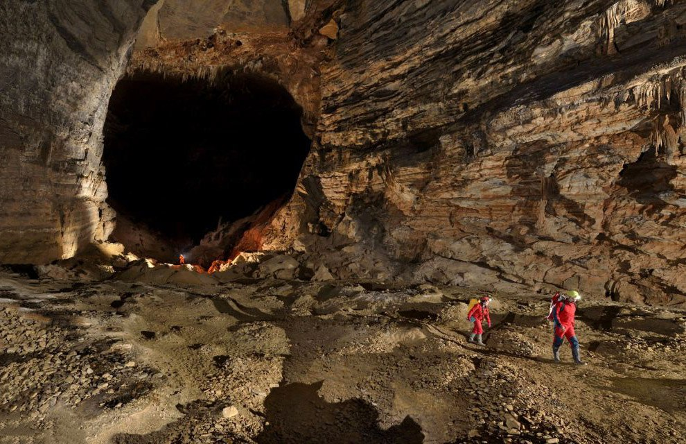 Легендарные пещеры провинции Чунцин