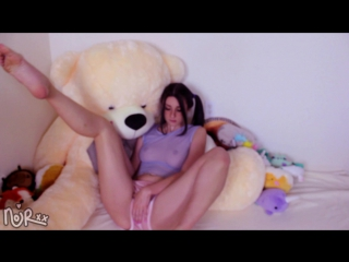 Miss Noir - Cottontail Buttplug (Sex, Amateur, Teen, Webcam, Masturbation, Dildo, Fap)(Natural Girls Porno)