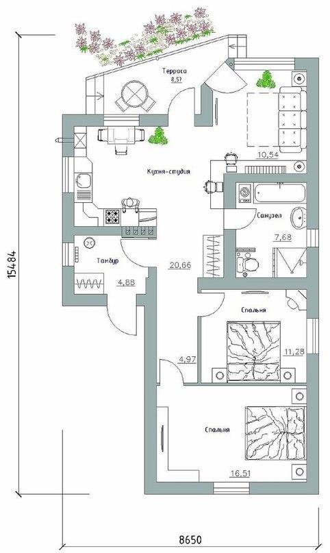 Проект мини-дома