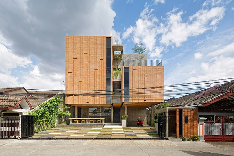 delution architect hosts music and ballet studios inside the equalizer in indonesia