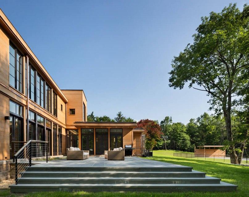 Особняк Milan Hill House от  Studio Marchetti в Нью-Йорке