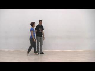 Видео-уроки Буги-вуги (Boogie-woogie). Beginners. Lesson 4. Duck walk (eng subs)