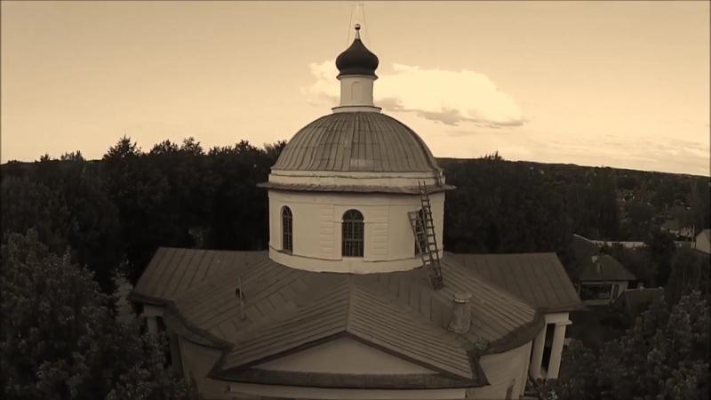 Город Спас-Деменск Калужской области. Храм Преображения Господня