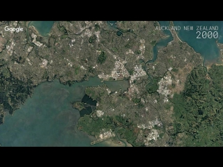 Google Timelapse - Auckland, New Zealand