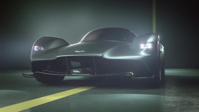 The Aston Martin Valkyrie_ AM-RB 001 hypercar officially named