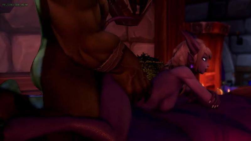 голая эльфийка видео секс мульт