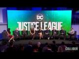 4 ноября 2017 - Пресс - конференции фильма  «Лиги справедливости» в Колледже в Лондоне, Англия.