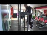 Street Workout Отжимания с весом на брусьях +16 на 40 повторений