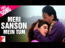Meri Sanson Mein Tum Full Song Aaina Jackie Shroff Amrita Singh Kumar Sanu Asha Bhosle
