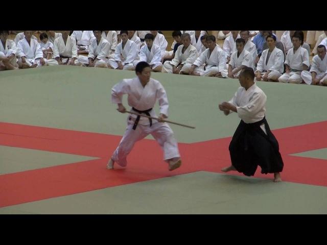 第61回演武会 養神館合気道龍 安藤先生 -2016 Demo Yoshinkan Ando sensei