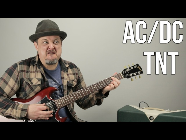 AC DC TNT How to Play TNT by ACDC Angus Young Easy Power Chords